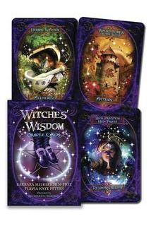Карты Witches Wisdom Oracle Card..