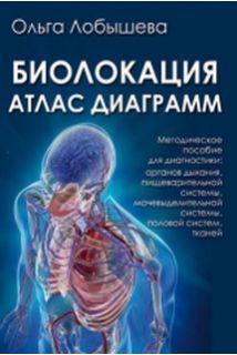 Биолокация. Атлас диаграмм. Методическое пособие для диагностики: органов дыхания, пищеварительной системы, мочевыделительной системы, половой систем, тканей