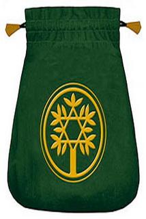 Мешочек для карт Таро «Кельтское древо»