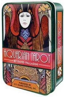 Tarot Aquarian in tin box (Таро ..