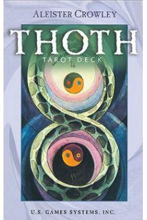 Aleister Crowley Thoth Tarot Premier Edition (Таро тота Алистера Кроули Премьер издание)