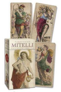 Таро Мителли.Болонья.1660 год