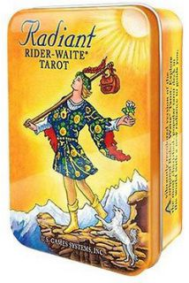 Radiant Rider-Waite Tarot in tin box (Таро Лучезарное Райдер-Уэйта в жестяной коробке)