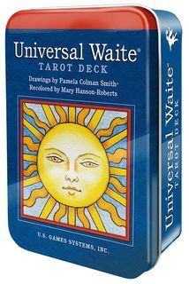 Таро Universal Waite in tin box ..